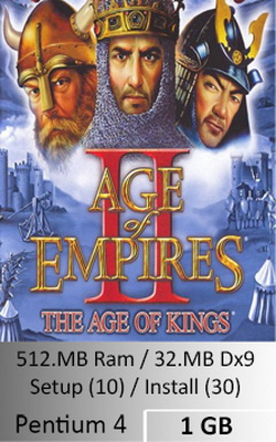 Age of Empires II The Conquerors  [ 1 GB ]